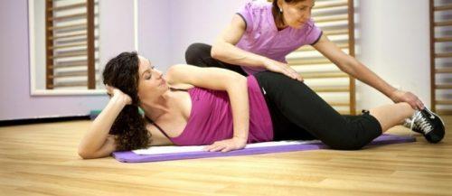 Комплекс упражнений от болей в спине при остеохондрозе