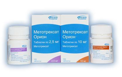 Лечение ревматоидного артрита метотрексатом