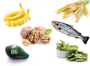 Продукты содержащие витамин Б6