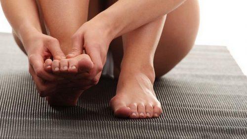 Лечение шишек на ногах