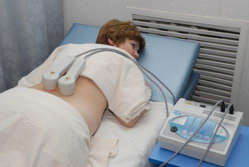 Лазеротерапия — один из методов лечения остеохондроза