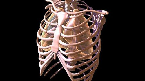 Хруст и боль в грудной клетке, что это?