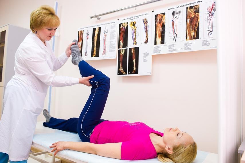 Как снять контрактуру голеностопного сустава