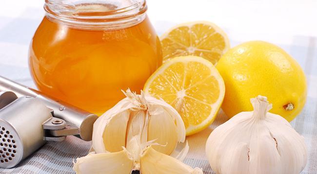чеснок мед лимон
