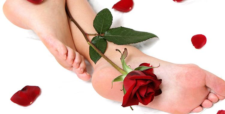 пятки и роза