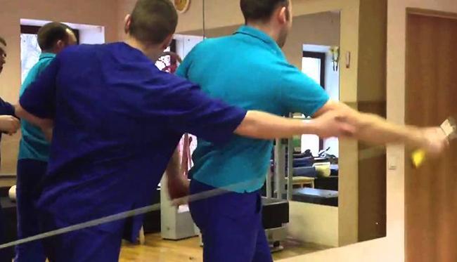упражнения  для разработки локтевого сустава