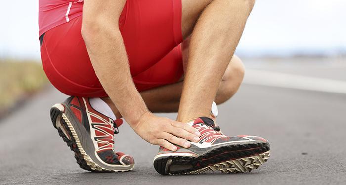 травма ног при беге