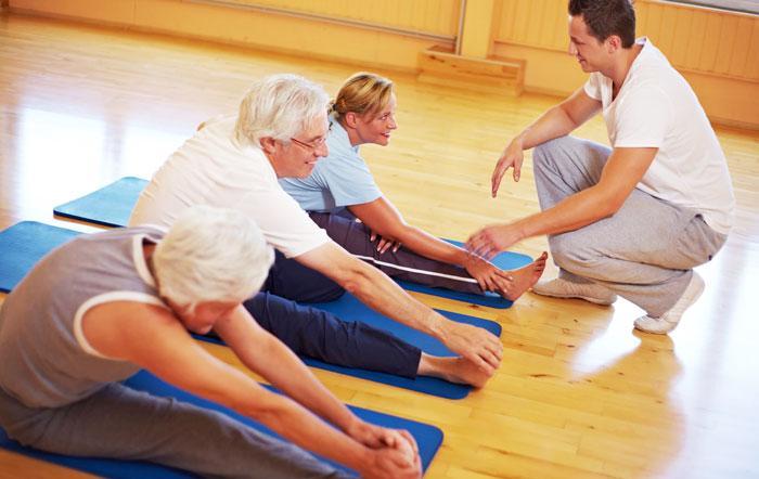 Упражнения при артрозе